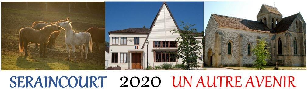 Seraincourt 2020 …   Un autre avenir